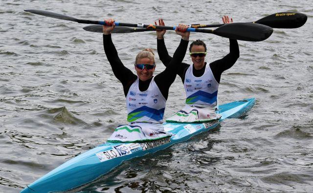 Špela Ponomarenko Janić in Anja Osterman sta favoritinji za kolajno na svetovnem prvenstvu na Madžarskem. FOTO: KZS