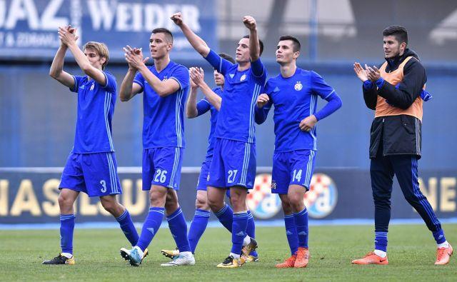 Dinamo se je veselil zmage z 2:0 proti Rosenborgu. FOTO: Cropix