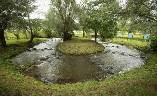 Ribja steza pri HE Blanca: umetno zgrajena pot, po kateri ribe lahko potujejo v obe smeri. Fotografije Jure Eržen