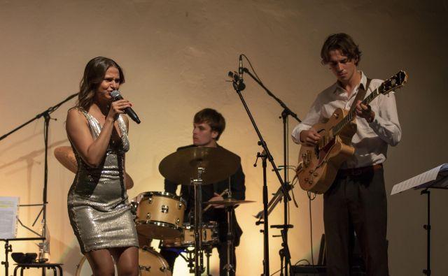Jazzovsko petje ima rada, muzikal pa še raje, pravi Tjaša Fajdiga. FOTO: Tomaž Semenič
