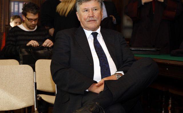 Dušan Črnigoj dosojene kazni ne bo prestal v zaporu, saj mu je višje sodišče odobrilo alternativno prestajanje kazni in mu namesto 18 mesecev naložilo 480 ur družbenokoristnega dela. FOTO: Aleš� Černivec/Delo