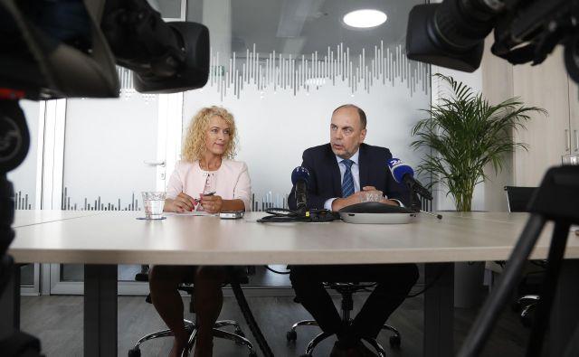 Nadzorni svet Slovenskega državnega holdinga (SDH) je za predsednika uprave holdinga imenoval Gabrijela Škofa, trenutnega prvega moža zavarovalnice Adriatic Slovenica. FOTO: Leon Vidic/Delo