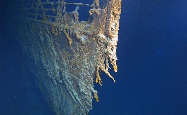 Ekipa raziskovalcev je v sklopu odprave s posebej prilagodljivi kamerami prvič posnela posnetke razbitine v resoluciji 4K. Z uporabo sistemov potopnih kamer je ekipa opravila namenske fotogrametrične prehode na razbitini, kar bo omogočilo zelo natančne in fotorealistične 3D modele Titanika. FOTO: Atlantic Productions