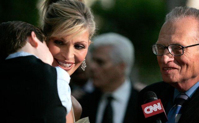 Od sedmih žena je Larry ravno s Shawn v zakonu zdržal daleč največ časa. FOTO: Reuters
