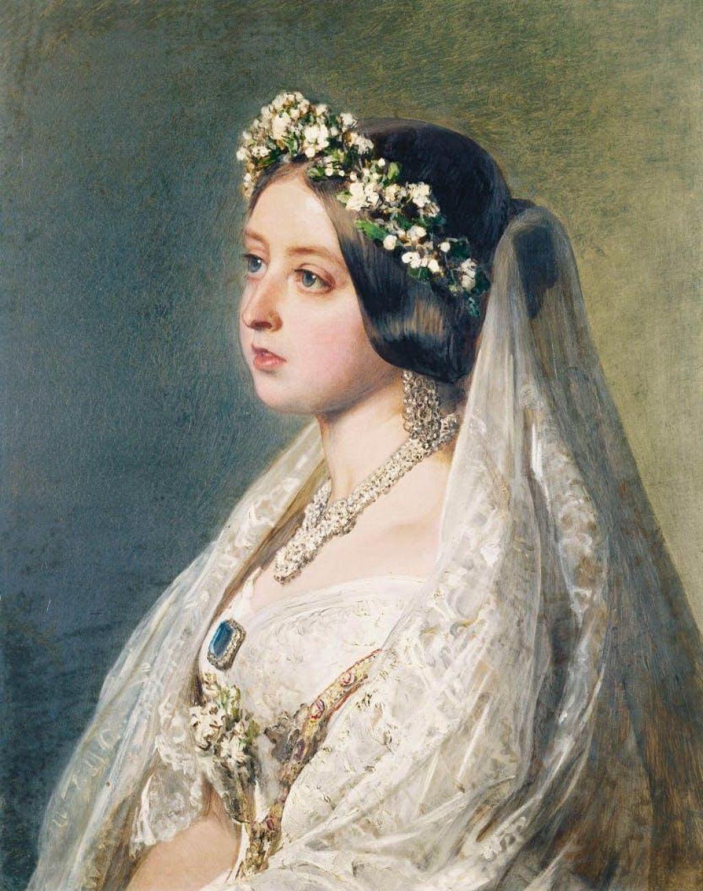 FOTO:Prva vladarica, ki je za neveste namesto najlepše nedeljske obleke uvedla belo