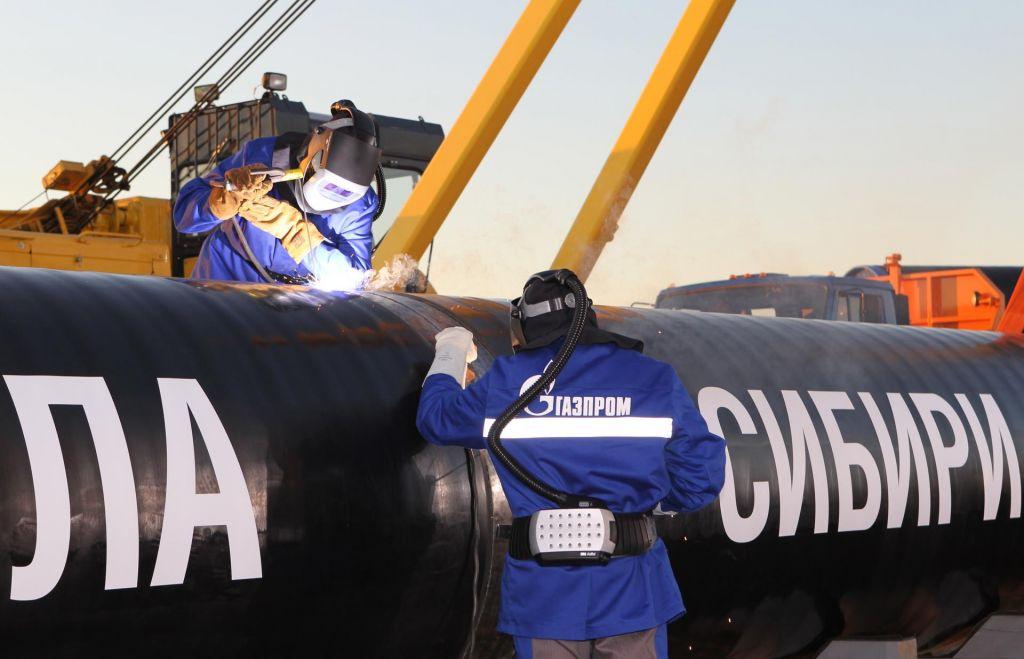 FOTO:Kitajska že tekmuje z Evropo za ruski plin