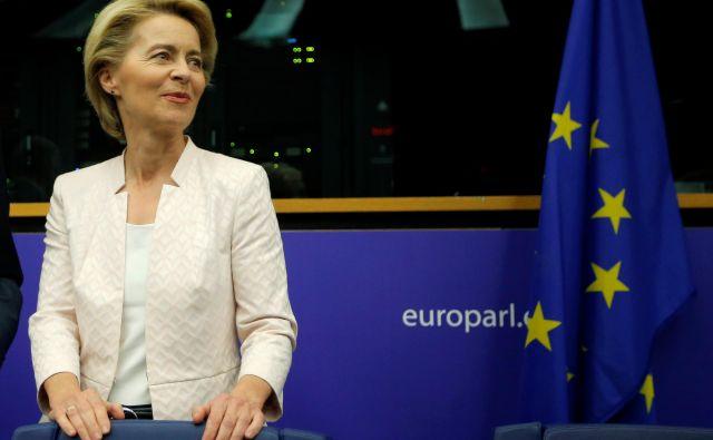 Ena od zavez von der Leynove je, da bo prihodnji kolegij komisije uravnotežen po spolu. Foto: Reuters