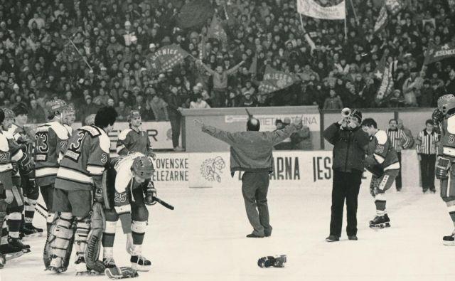 Jeseniška hokejska zgodovina je imela izjemne vzpone in boleče padce. FOTO: Janez Pukšič
