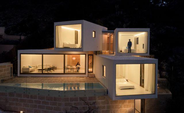 Nenavadna hiša s čudovitim razgledom. FOTO: Luis Díaz Díaz