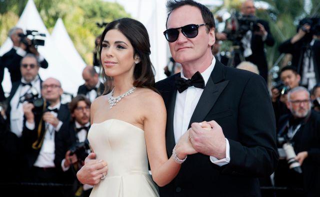 Tarantino in njegova mlada izbranka sta v nestrpnem pričakovanju. Foto Shutterstock