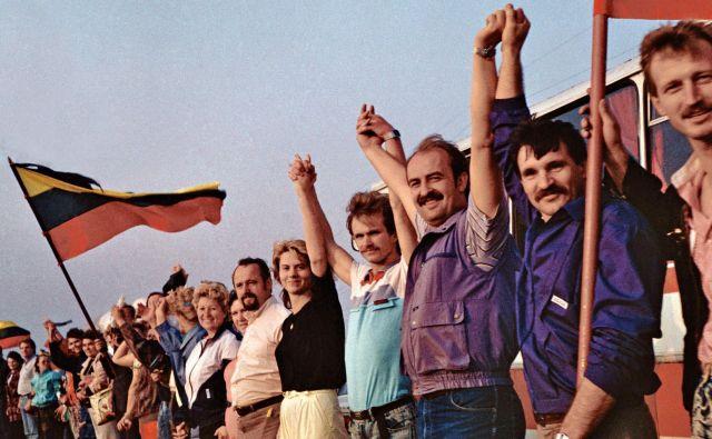 Veriga leta 1989 je bila eden od najučinkovitejših vizualnih protestov, sedem mesecev pozneje pa je Litva prva med nekdanjimi baltskimi sovjetskimi republikami razglasila neodvisnost. FOTO: Wikipedija