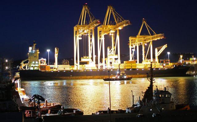 V koprskem pristanišču bo jeseni koncert klasične glasbe. FOTO Tomi Lombar