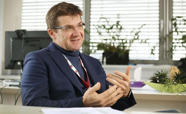 Predsednik uprave A1 Slovenija Dejan Turk. FOTO: Leon Vidic/Delo