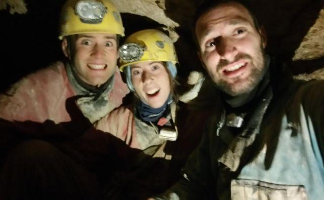 Selfi povezovalne ekipe na Kaninu. Foto Jaka Flis