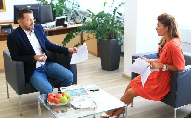 Blaž Pesjak, predsednik uprave družbe Merkur Foto: Tomi Lombar/Delo