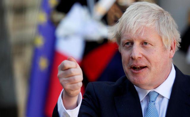 Po Berlinu in Parizu bo Johnsonova naslednja postaja Biarritz in vrh skupine držav G7. Foto Reuters