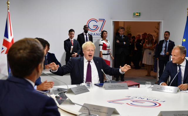 Trump je povedal, da je Johnson (na fotografiji) pravi človek za brexit in da bo z Združenim kraljestvom sklenil sporazum, ki naj bi bil »večji, kot so ga kadarkoli imeli«. Foto: Reuters