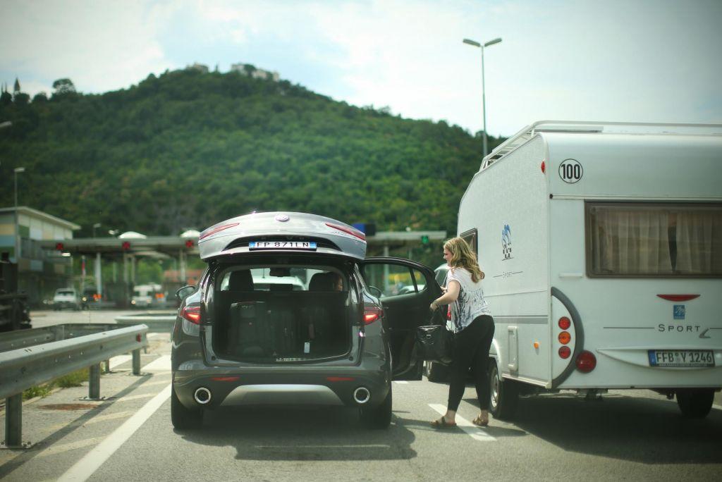 Promet bo te dni povečan od Hrvaške proti Avstriji