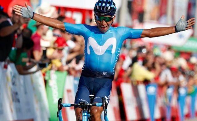Quintana je presenetil z zadnjim napadom in zmagal. Foto Lv19