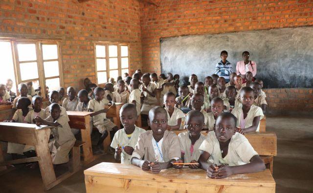 Šolo v Kiguhunu v Burundiju so obnovili s sredstvi, ki jih je zbrala Slovenska karitas. Fotografije Jana Lampe