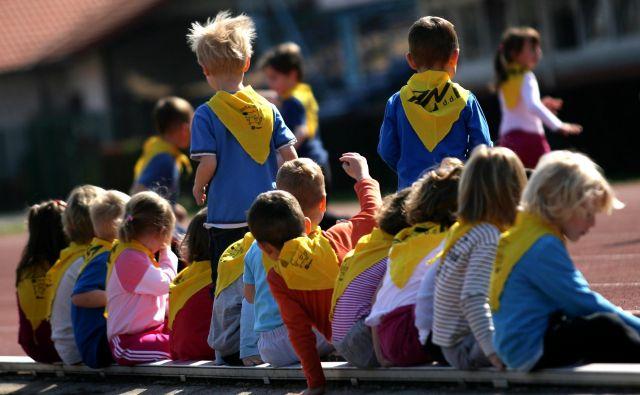 20.840 prvošolcev bo letos sedlo v šolske klopi. FOTO: dokumentacija Dela