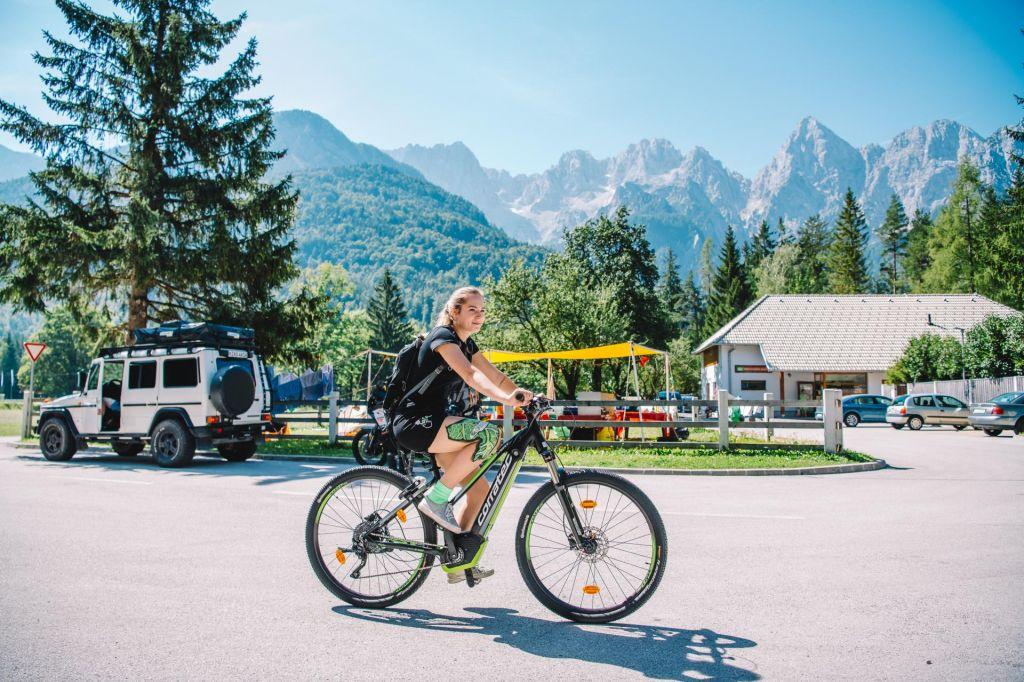 Kranjsko Goro je najlepše doživeti na dveh kolesih