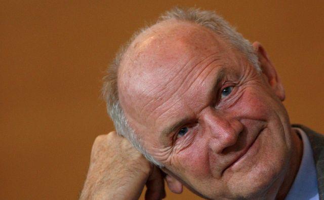 Nekdanji veliki šef Volkswagna Ferdinand Piëch je umrl v starosti 82 let. FOTO: Christian Charisius/Reuters