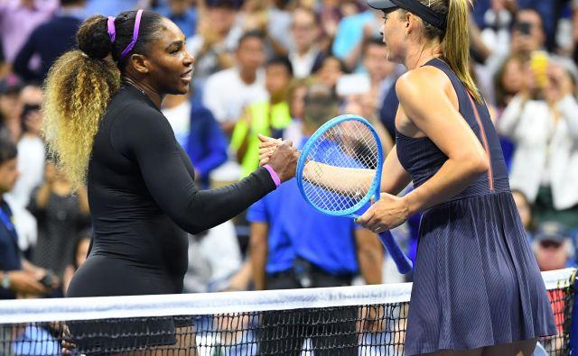 Američanka Serena Williams je brez večjih težav ugnala Rusinjo Marijo Šarapovo. FOTO: Usa Today Sports