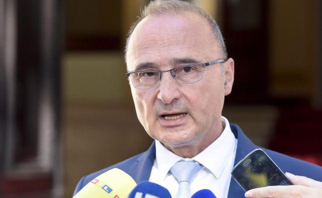Položaj se je zapletel, ker je Grlić Radman zatrdil, da je Cerar leta 2017 skoraj sprejel pobudo premiera Plenkovića glede meje, kar je Slovenija zanikala. FOTO: Cropix