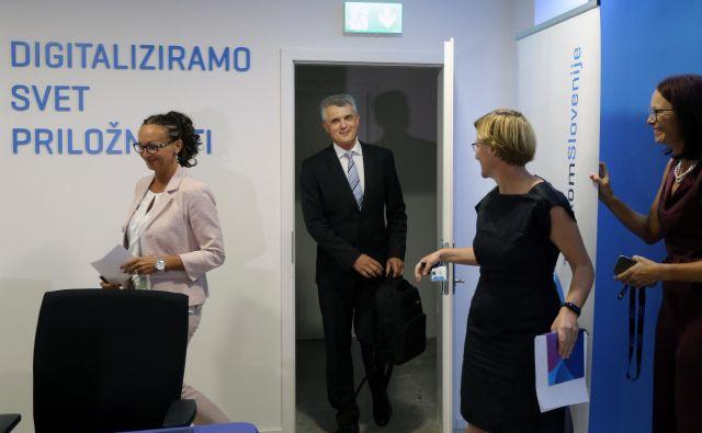 Novi predsednik uprave Telekoma je postal Matjaž Merkan, Ljubljana 27. avgust 2019 Foto Matej Družnik