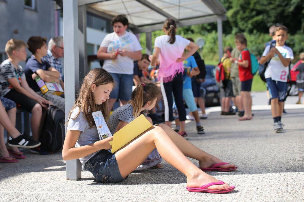 Ljubljana se pripravlja na novo šolsko leto