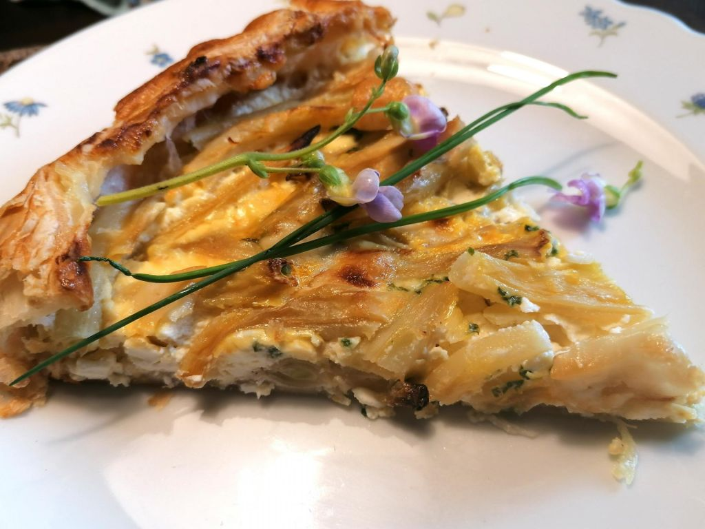FOTO:Poletov recept: Pita iz stročjega fižola