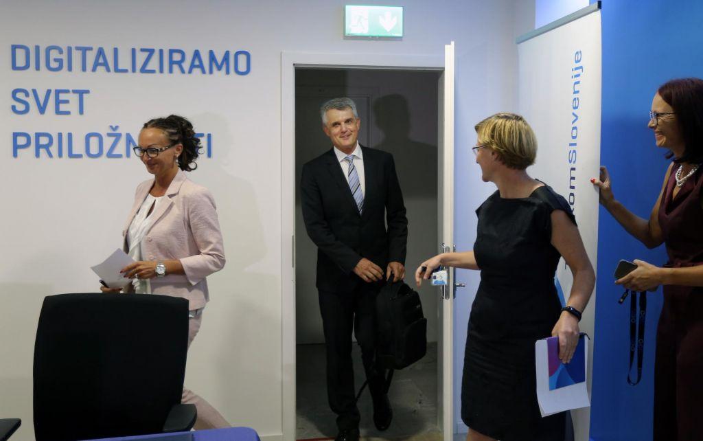 Nadzorniki Telekoma Slovenije so imenovali novega predsednika uprave