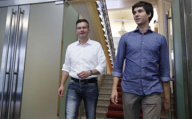 Če koalicija predloga ne bo podprla, bodo v stranki ugotovili, da je prenehala sodelovati z njimi, pravi Luka Mesec. FOTO: Leon Vidic/Delo