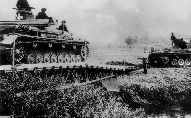 Pred natanko 80 leti se je začela druga svetovna vojna. FOTO: Afp