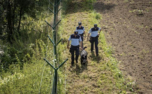 Policistom v redni sestavi pri nadzoru pomagajo tudi pomožni policisti. FOTO: Voranc Vogel