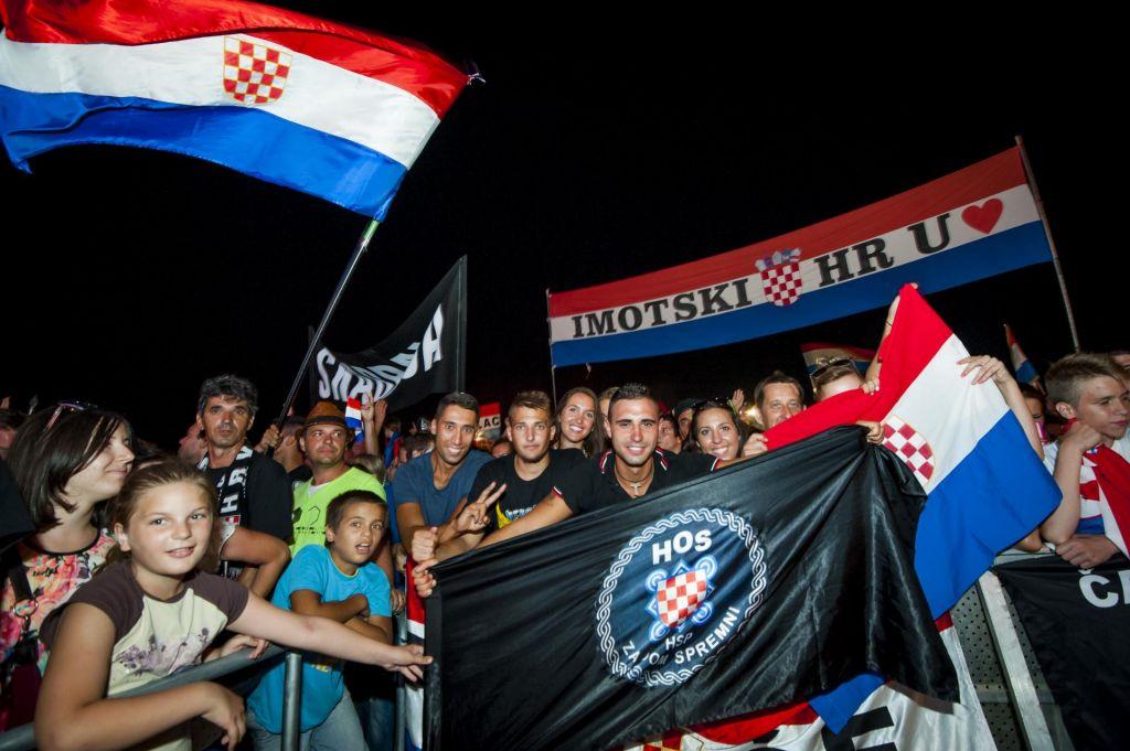 Hrvaška policija pridržala osem napadalcev na Srbe