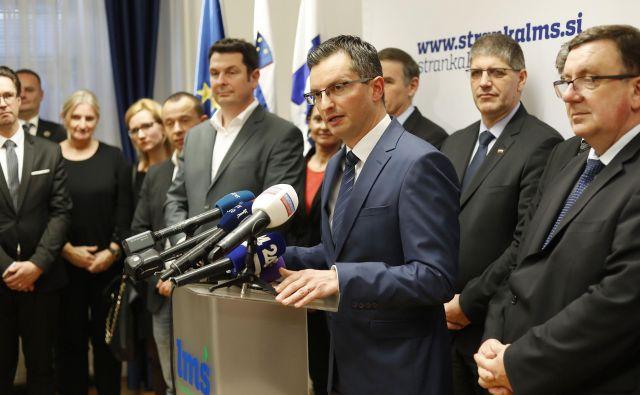 Vodja poslancev LMŠ Brane Golubović je napovedal, da bodo nekatere stvari v stranki glede Kralja zelo jasno povedane. FOTO: Leon Vidic/Delo