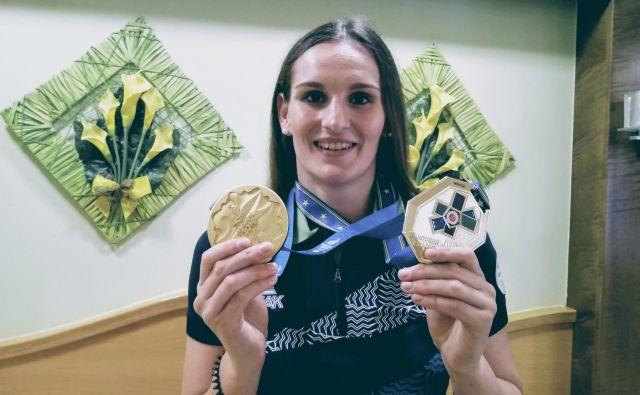 Evropska prvakinja Klara Apotekar pravi, da je na svetovnem prvenstvu možno čisto vse. FOTO: Miha Šimnovec