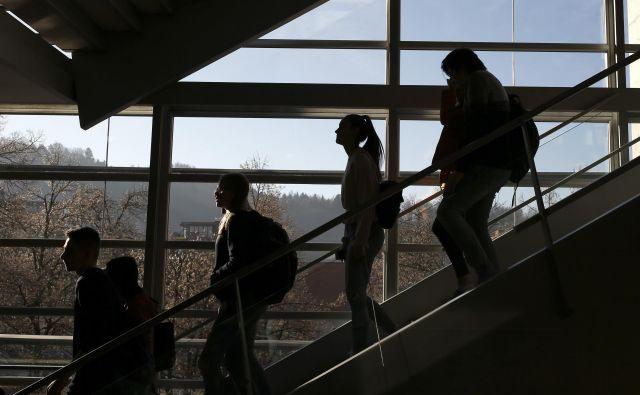 V šoli je lažje, ker vidiš cilj pred seboj Foto: Blaž Samec/Delo