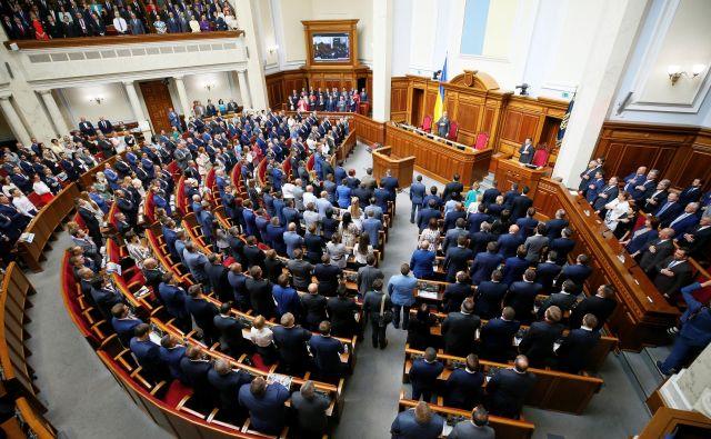 Nova vrhovna rada je začela delati po »stahanovsko«. Foto: Reuters