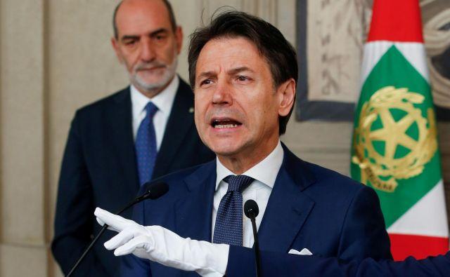 Giuseppe Conte. FOTO: Ciro De Luca/Reuters