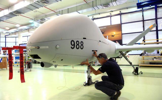 Pri uporabi brezpilotnih letal, ki jih tudi sama razvijata, sta najbolj aktivna Izrael in Iran. Foto: Reuters