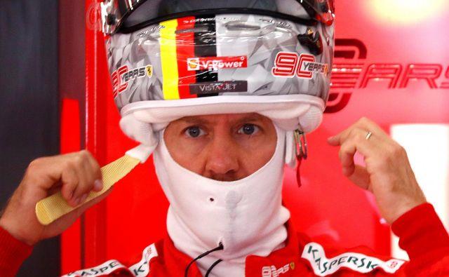 Sebastian Vettel je bil najhitrejši na prvem treningu pred veliko nagrado Belgije. FOTO: Reuters