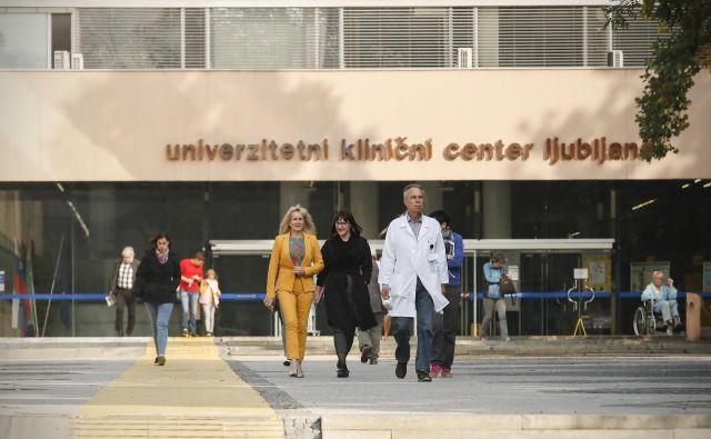 Univerzitetni klinični center Ljubljana je imel ob polletju dobrih osem milijonov minusa, lani v istem obdobju pa 12,7 milijona. Foto: Uroš Hočevar/Delo