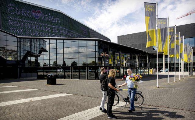 Areno Ahoy v Rotterdamu, ki je znana po kongresnih prireditvah, športnih dogodkih ali, denimo, glasbenem North Sea Jazz Festivalu, so zgradili že leta 1970. FOTO: Koen Van Weel/AFP