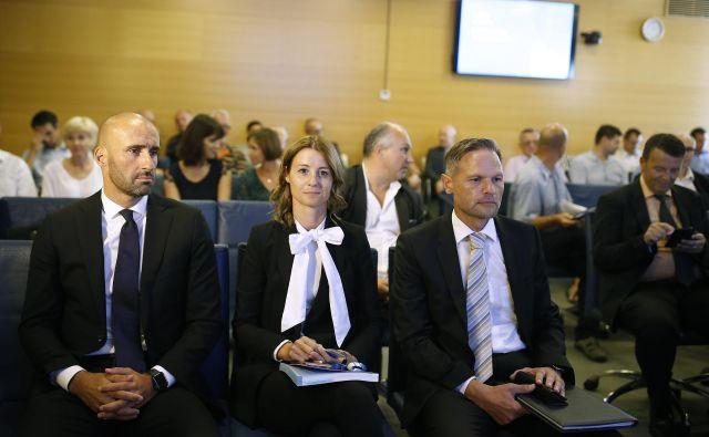 Skup�čina delničarjev dru�be Telekom. Foto Bla�ž Samec