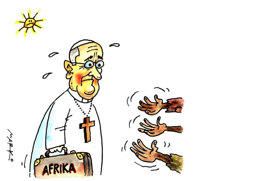 Na valovni dolžini s papežem