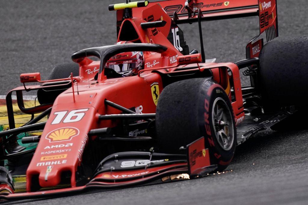 FOTO:Popoln vikend in prva zmaga žalujočega Leclerca