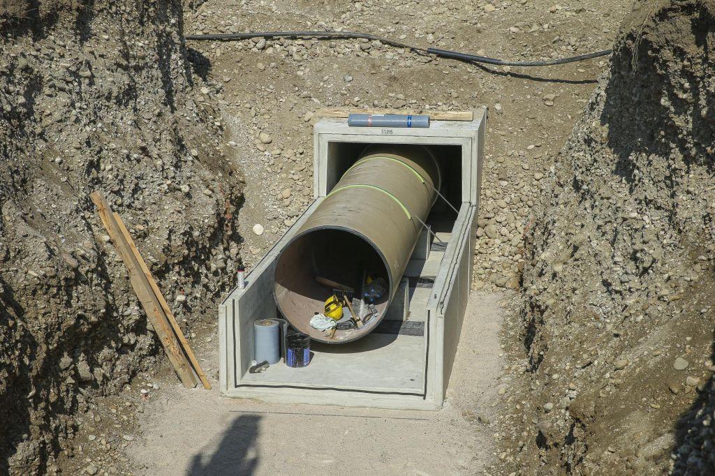 FOTO:Kanal C0 dodatno ogroža pitno vodo za Ljubljančane